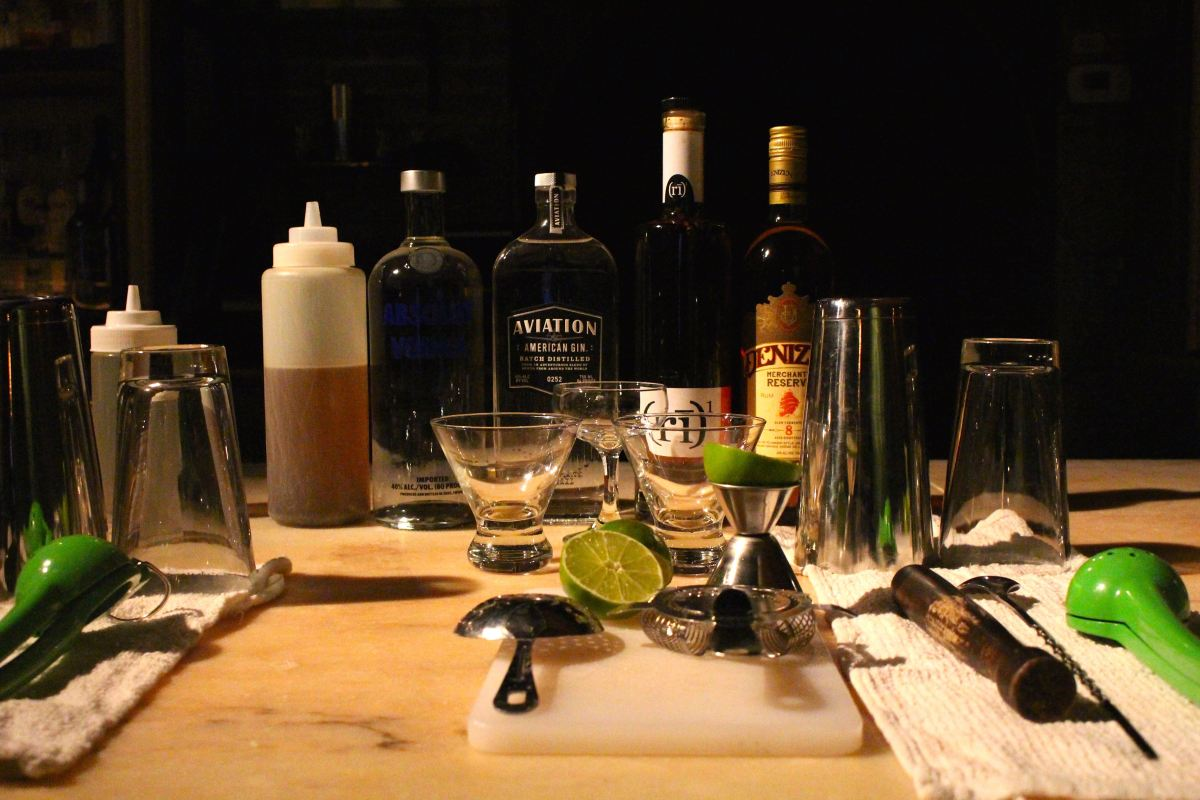NYC // Apotheke Academy: Market Fresh Mixology Classes