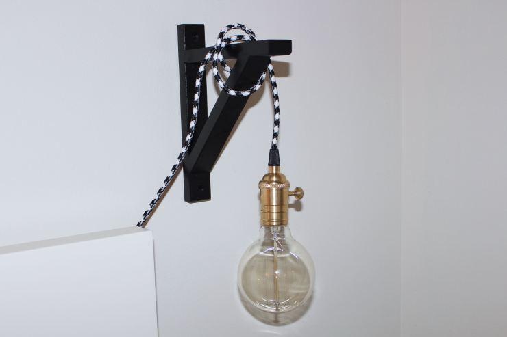 DIY Edison Bulb Lamp NYC 4