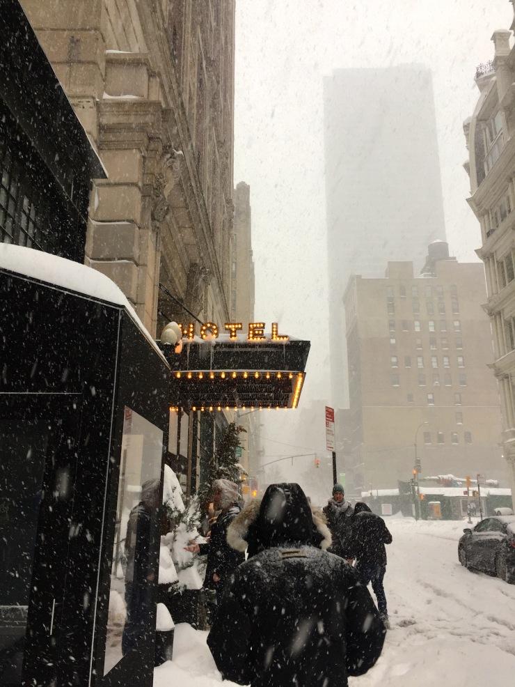 NYC Blizzard 201605