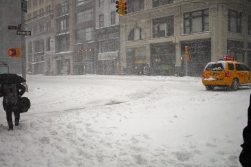 NYC Blizzard 201608