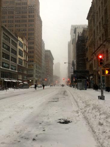 NYC Blizzard 201612