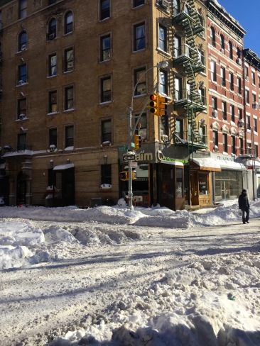 NYC Blizzard 201615