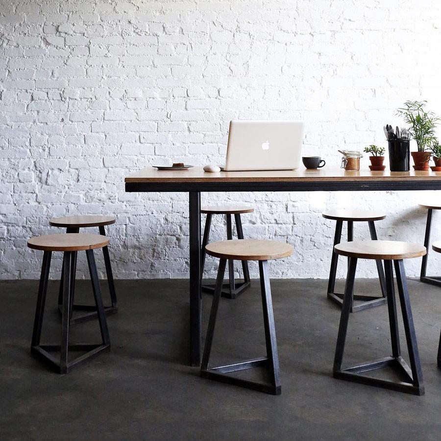 Sweatshop Nyc Brooklyn Coffee Shop Illustrations Australian Design Table Mac