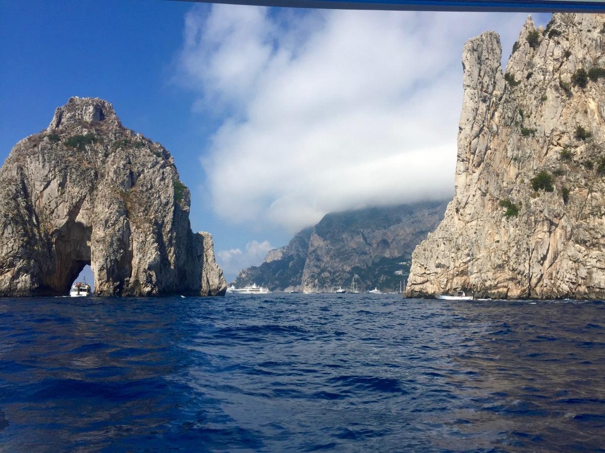 Italy's Amalfi Coast // Capri + Positano